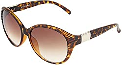 Omnesta Women's Cat-eye Sunglasses (Brown) (PD034)