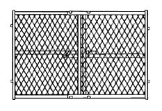 Gateway Manufacturing 13-276-50 Mesh Pressure Safety Gate, 42""