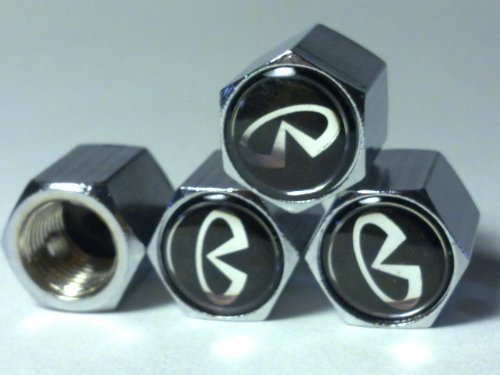 nissan-infiniti-black-anti-theft-car-wheel-tire-valve-stem-caps