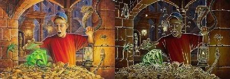 Treasure Hunt Jigsaw Puzzle 100pc