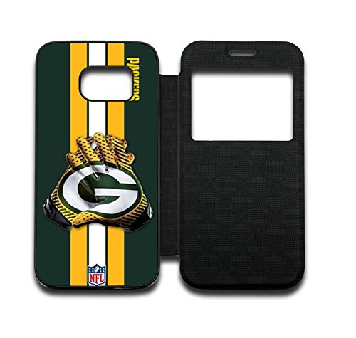 NFL Green Bay Packers Samsung Galaxy S7 Edge Flip Cover Case DM152305 from cellks