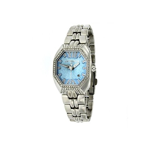 Chronotech Women's Watch Time only Chronotech Steel with swarovski Elements