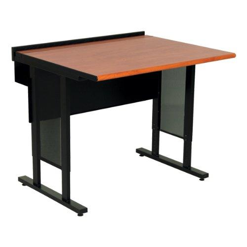 Buy Low Price Comfortable Spectrum Industries Evolution Computer Desk – Adjustable Height (30″ W x 72″ L) (B0039KRP1U)