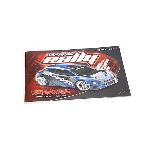 TRAXXAS 7399 Owners Manual 1 16 Rally