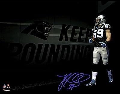 Luke Kuechly Carolina Panthers Autographed 11'' x 14'' Photograph - Fanatics Authentic Certified - Autographed NFL Photos