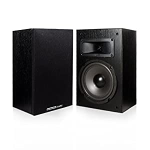 "Acoustic Audio PSS-52 100 Watt 5.25"" Home Audio Bookshelf Speakers"