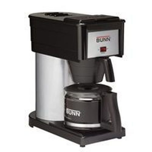 New Bx-b Bunn 10 Cup Coffee Maker Brewer Black Stainless