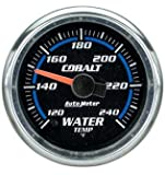 Auto Meter 6155 Cobalt Full Sweep Electrical Water Temperature Gauge