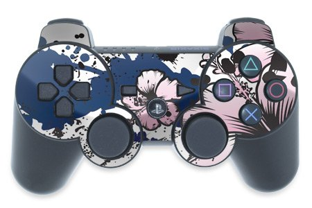 Mygift Aerial Design Ps3 Playstation 3 Controller Protector Skin Decal Sticker