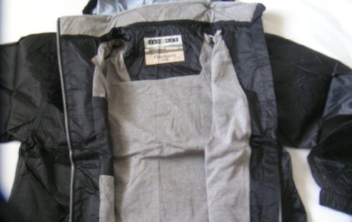 Mens hooded rain jacket. Size Medium