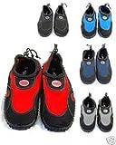 Blue Rush Mens Beach Wetsuit Aqua Shoes - 9 - Black/Navy