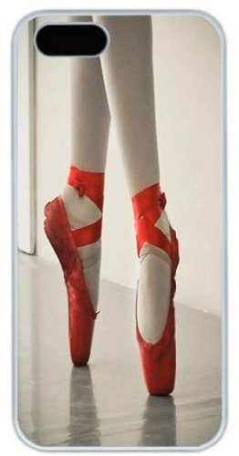 Chic Eden Red Ballet Pointe Shoes