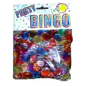 Lowest Prices! 300 Plastic Bingo Chips