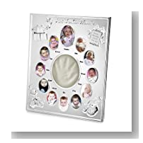 Personalized Baby's First 12 Months Picture Frame Gift