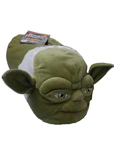 Pantofole moppine bambino uomo Star Wars guerre stellari *22600-39-41-verde