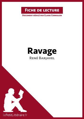 lePetitLittéraire.fr Claire Cornillon - Ravage de René Barjavel (Fiche de lecture)
