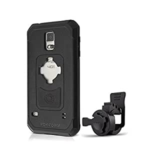 Rokform Bike Handlebar Mount with Case for Samsung Galaxy S5 - Retail Packaging - Black