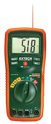 Extech Ex450 True Rms Autoranging Multimeter With Infrared Thermometer
