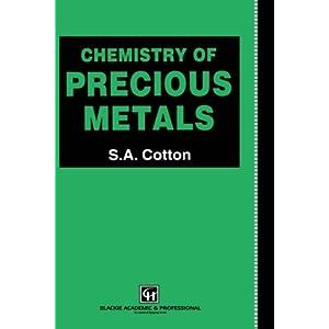 Chiquita Turberville - Chemistry of Precious Metals e-book