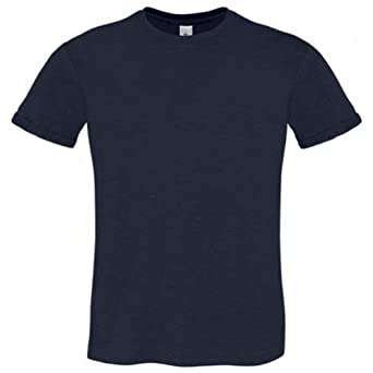 B&C Too Chic - T-shirt 100% coton - Homme (S) (Bleu marine)