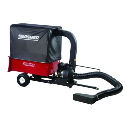 Swisher LV87537 2-in-1 8.75 Gross Torque Lawn Vacuum and Dump Wagon