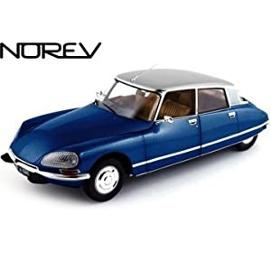 1971 Citroen DS 23 Pallas Night Blue 1/18 Diecast Car Model by Norev 181577