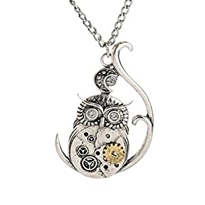 Sweet Brownie vintage steampunk jewelry accessories for men and women