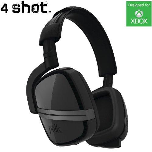 Polk Audio 4Shot Headphone - Black - Xbox One