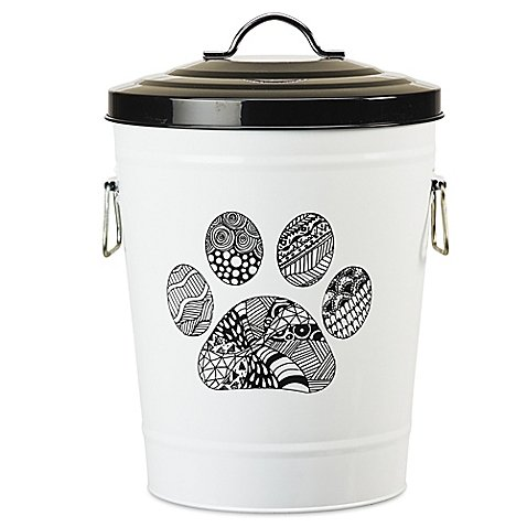 Amici Pet Zentangle Pet Food Storage Bin (30lb Storage Container compare prices)