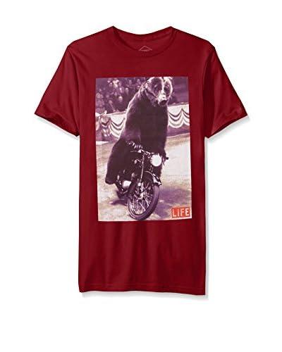 Altru Men's Biker Bear Graphic Tee