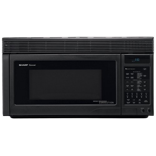 """1.1 Cu. Ft. Convection Over-The-Range Microwave With 13"""" On/Off Carousel Turntable Easy-To-Read 7-Digit 2-Color Display And Convection Programs: 12 Compucook Compudefrost:"""