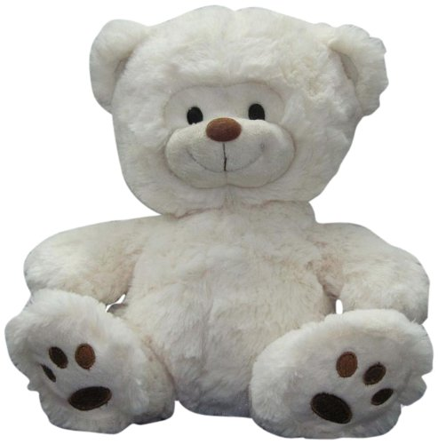 "Nic Nac White Bear 11"" Plush - 1"
