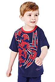 Pure Cotton Spider-Man&#8482; Print T-Shirt