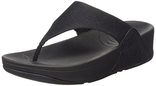 Fitflop Superelectra Tm Infradito, Nero (Black (Black 001)), 39