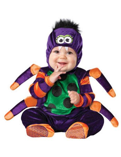 6-12 Months - Itsy Bitsy Spider Baby Costume 6-12 Months