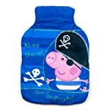 Character World Peppa George Pirate Hot Water Bottle and Cover