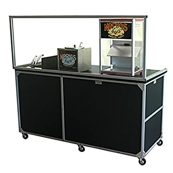 Food Service Sinks : : Monsam FCS-001 Food Service Cart with Portable Self Contained Sink ...