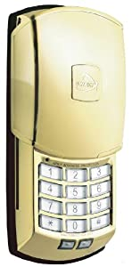 Sunnect AP501BB Advanced Protection Digital Deadbolt Lock, Bright Brass