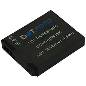 Dot.Foto Batterie de qualité pour Panasonic DMW-BCM13, DMW-BCM13E, DMW-BCM13PP - Entièrement 100% compatibles - 3,6v / 1250mAh - garantie de 2 ans [Pour la compatibilité voir la description]