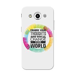 Garmor Designer Silicone Back Cover For Samsung Galaxy Core Max