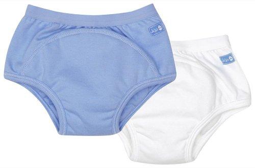 Jojo Maman Bebe 2-pack Training Pants, Blue, Small