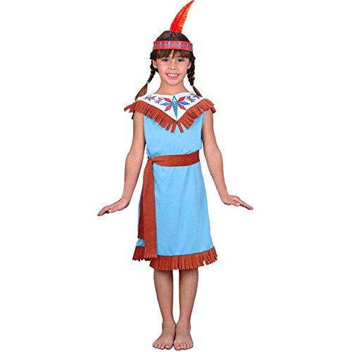 Kid's Indian Girl Costume (Size:Medium 8-10)