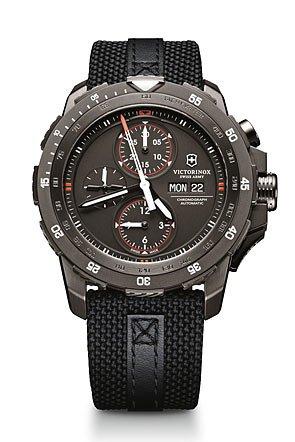 Victorinox Swiss Army Alpnach Chrono Black Dial Men's Watch #241530