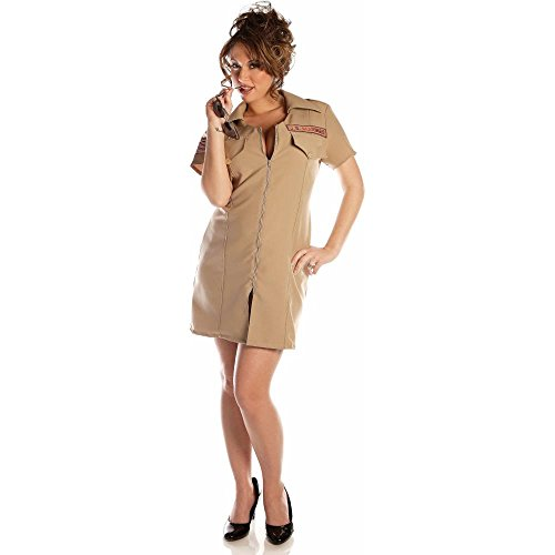 Adult Women's Sexy Marines Costume (Size:Md 10-12)