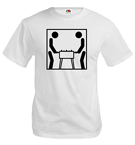 buXsbaum-T-Shirt-Table-Football-Pictogram