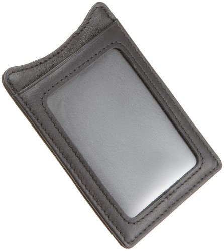 Kenneth Cole REACTION Men's Money Clip With Id Window,Black,One Size