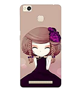 EPICCASE Chinese Cuttie Mobile Back Case Cover For Xiaomi Redmi 3S (Designer Case)