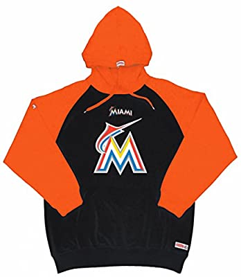 MLB Miami Marlins Youth Big Logo Pullover Hood
