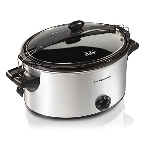 Hamilton Beach 33262 Stay or Go 6-Quart Slow Cooker (Hamilton Beach Slow Cooker Lid compare prices)