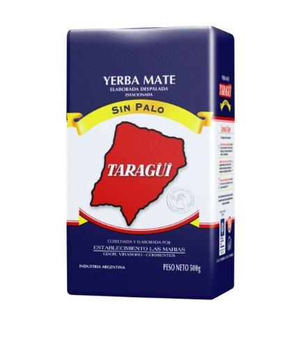 Taragui Yerba Mate Loose Leaf, 1000-Gram Packages (Pack Of 10)